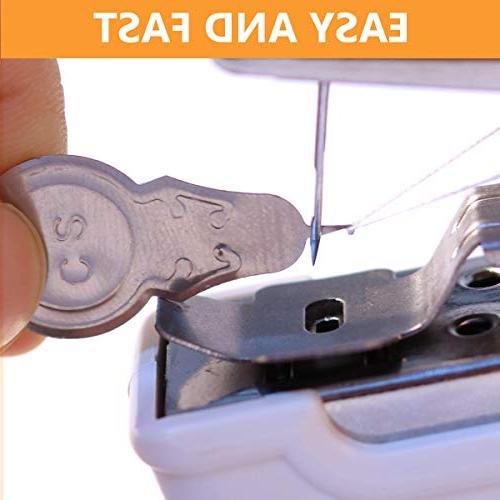 MSDADA Mini machine,Professional Sewing Handheld Household Fabric, Clothing, Cloth, Travel Use