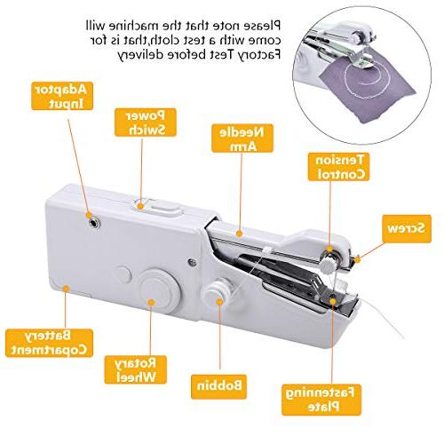 MSDADA machine,Professional Sewing Handheld Household for Travel