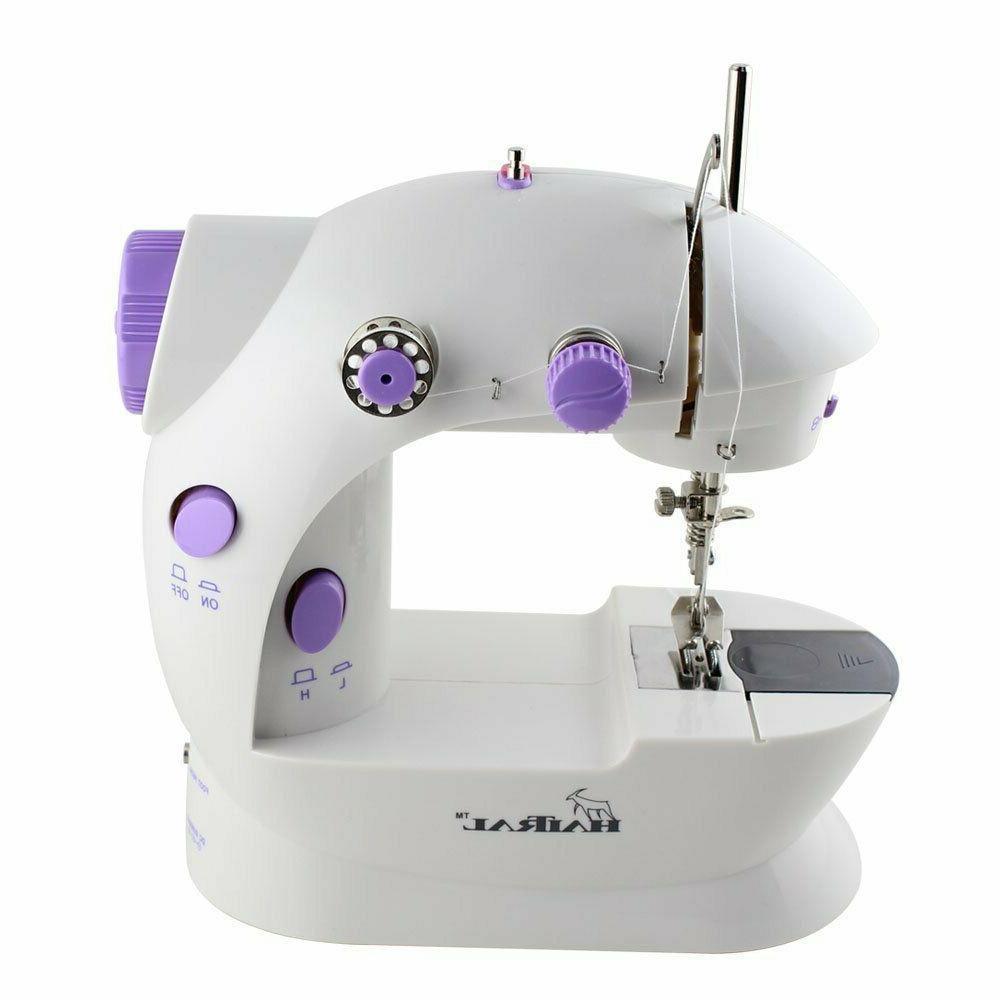 mini sewing machine portable adjustable 2 speed