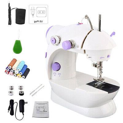 mini sewing machine portable electric foot pedal
