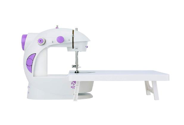 mini sewing machine with extension table upgraded