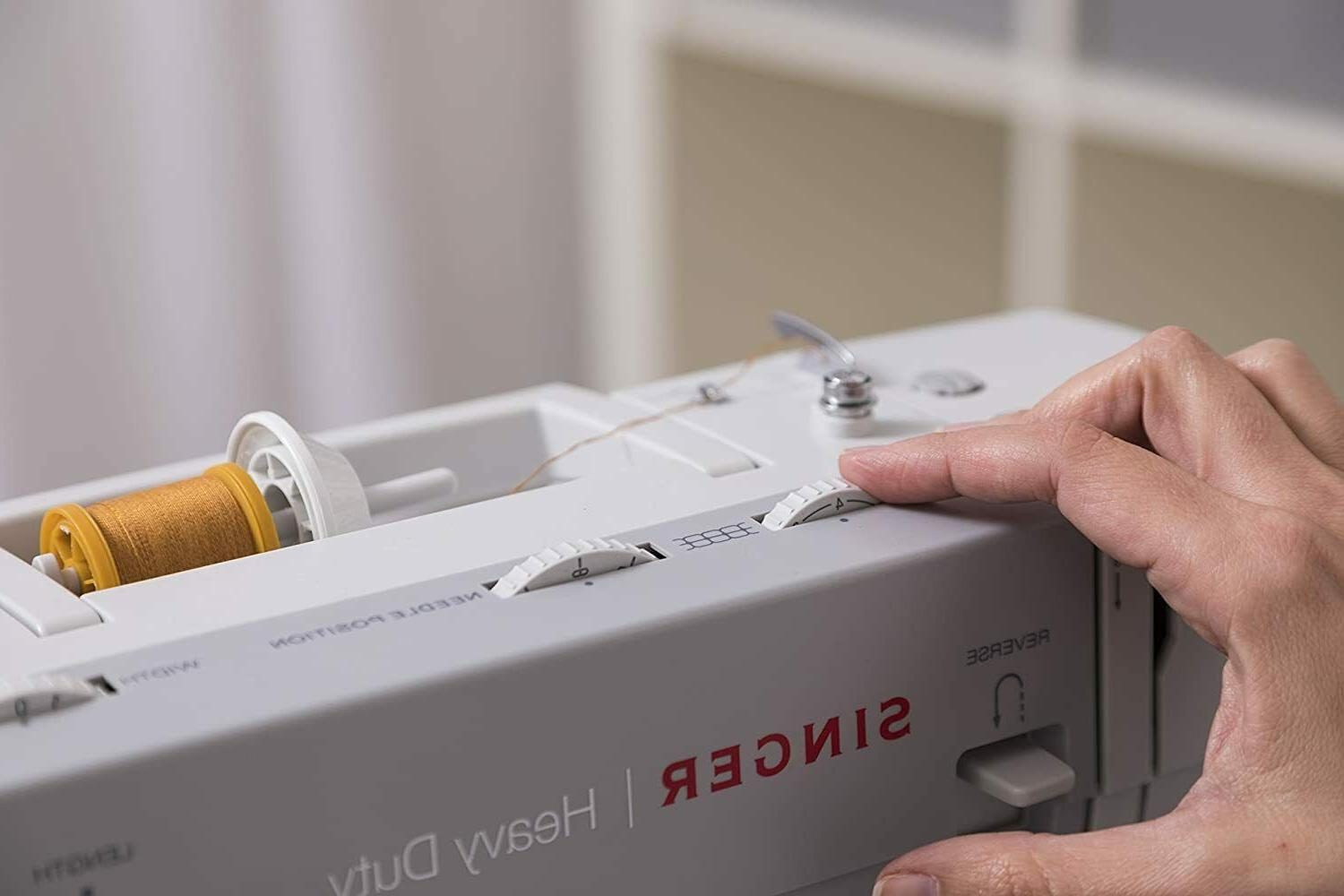 NEW Heavy-Duty Sewing Machine Built-In Stitches Accessories