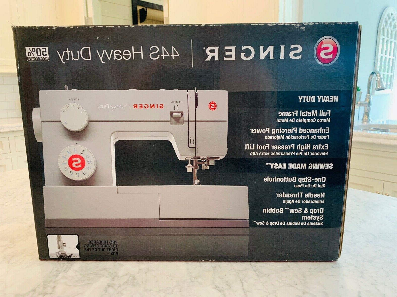 new 44s heavy duty sewing machine