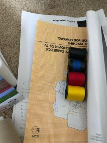 New 3 or 4 Serger with Lay In