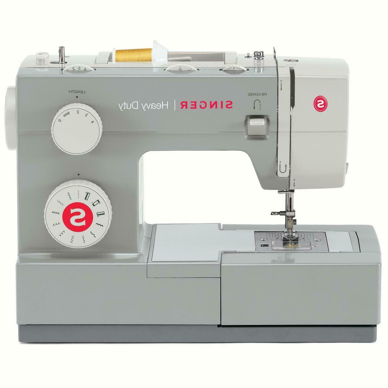 Singer 4411 Heavy Duty Sewing Machine Industrial Portable Le