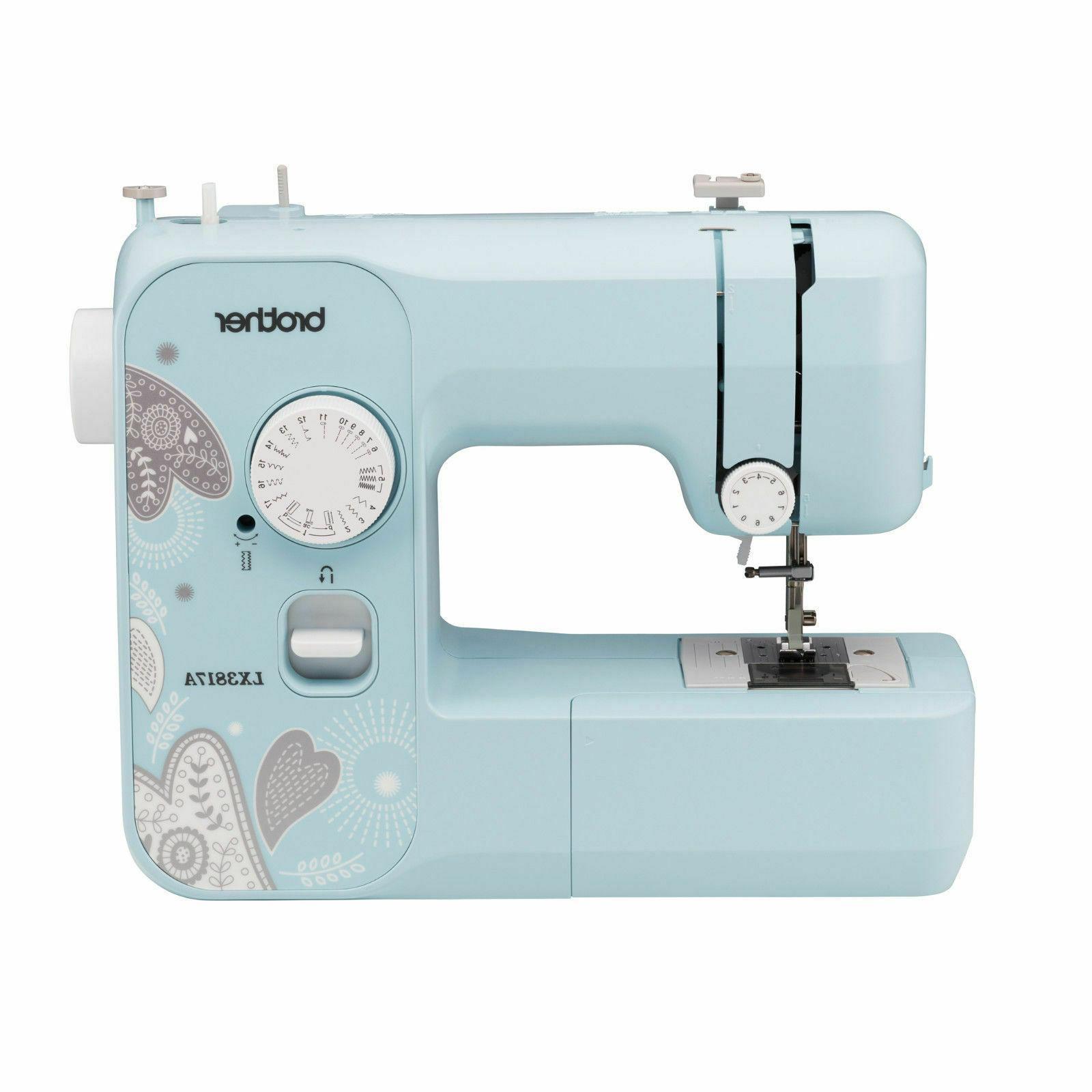 new lx3817a 17 stitch full size sewing