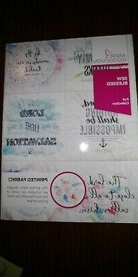 NEW Anita Goodesign Sew Blessed Quilting Collection embroide