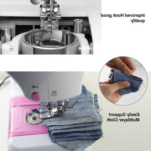 Mini Sewing Machine with Built-In