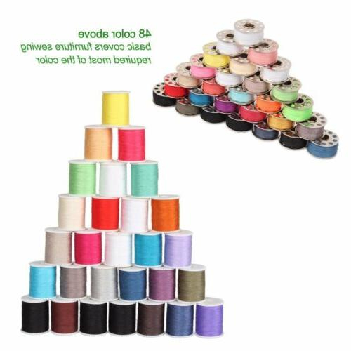 Sewing Machine Sewing Thread 60pcs Colors