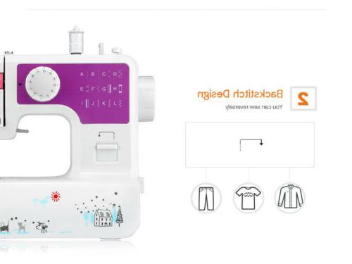 Portable Household Sewing Machine Speed