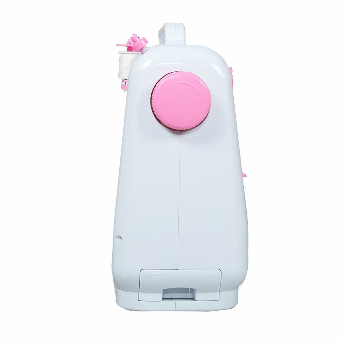 Portable Mini Household Desktop Sewing Machine w/Pedal