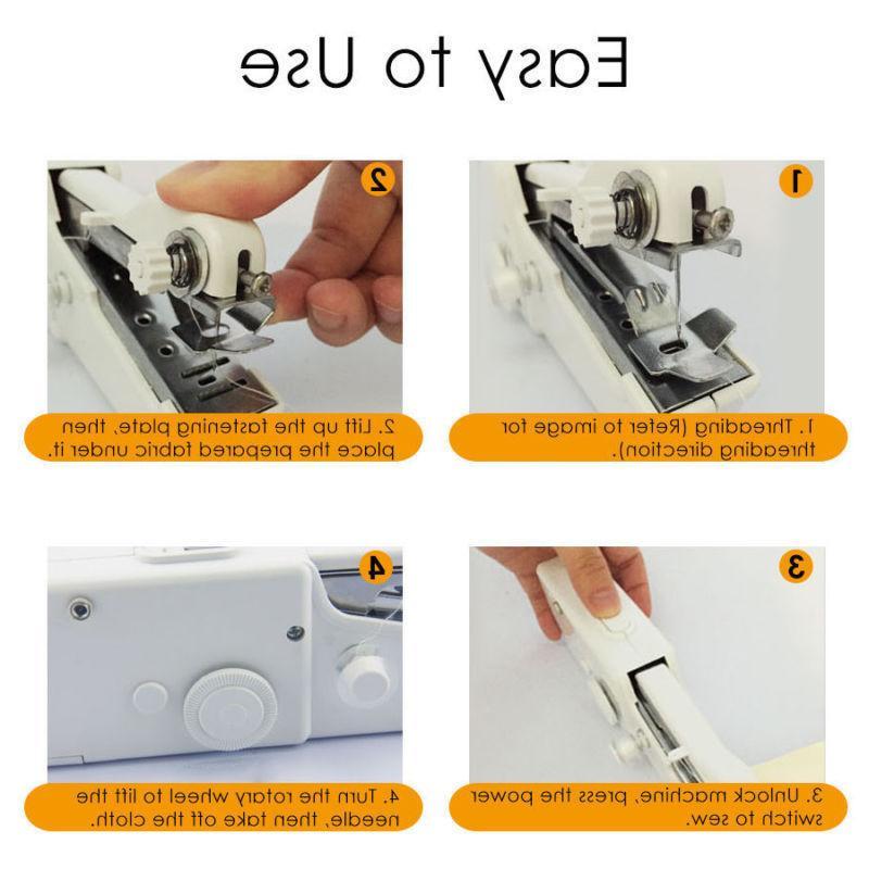 Portable Smart Mini Electric Tailor Stitch Machine Travel