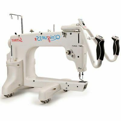q nique long arm quilting machine new