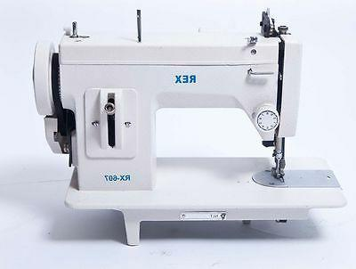 rx 607 portable upholstery walking foot sewing