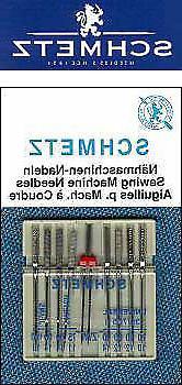 schmetz combination pack sewing machine needles