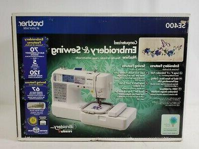 se400 combination computerized embroidery machine
