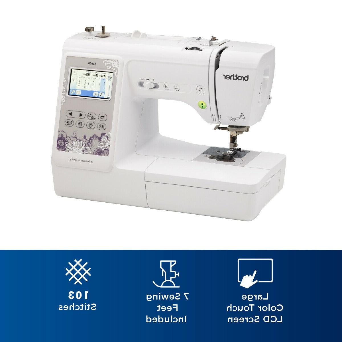 Brother SE600 Combo Computerized Sewing & ✅ NEW ✅
