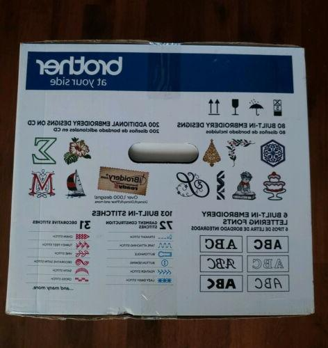 Brother SE625 Computerized Embroidery & Sewing SHIPPING*BRAND NEW*