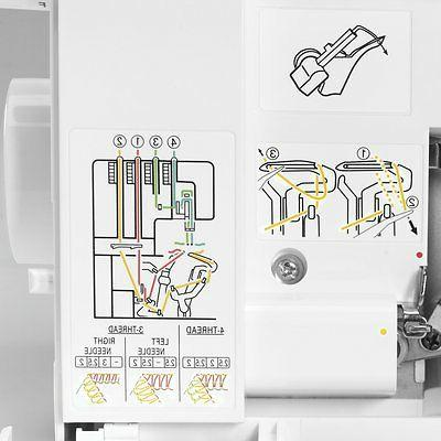SINGER Serger 2-3-4 Household Sewing Stitch -ProFinish
