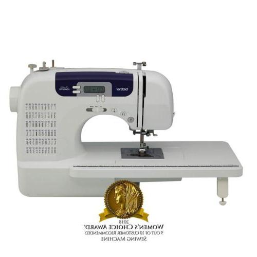 sewing and quilting machine cs6000i 60 built