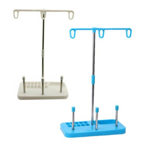 thread stand 3 spools holder for embroidery