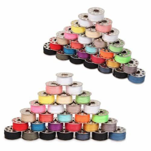 Sewing Machine Thread 60pcs Mixed Colors