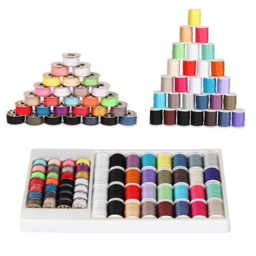 sewing machine kit sewing thread 60pcs mixed