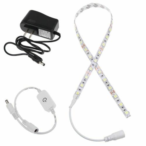 30 LED Sewing Machine Light Strip Touch Dimmer USB Power Sup