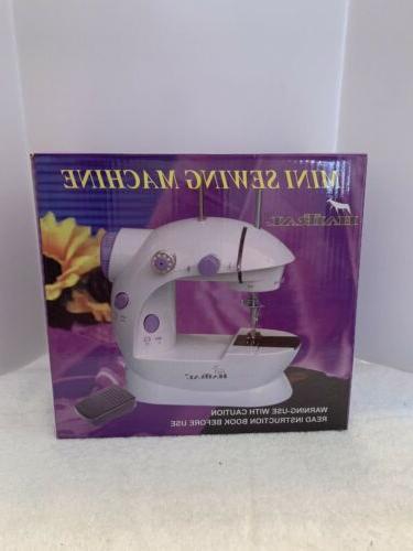 sewing machine mini 2 speed double thread