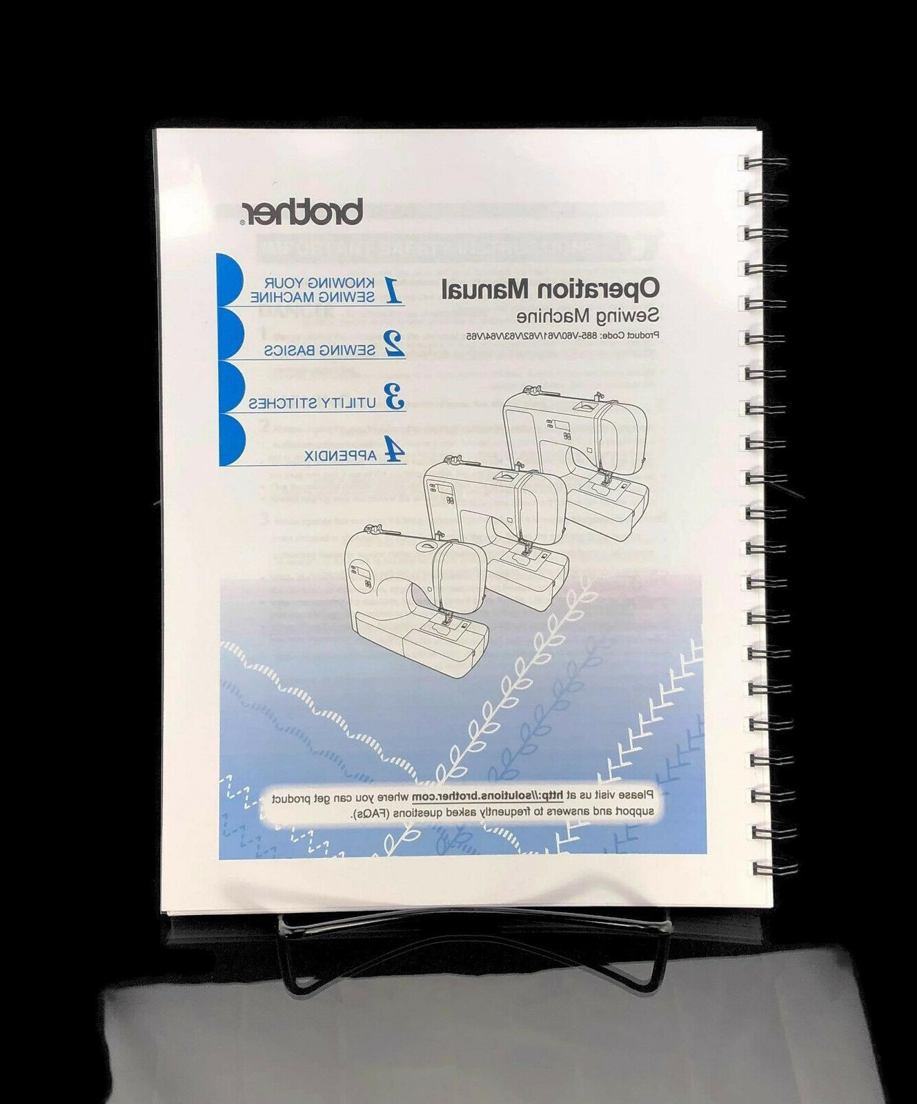 sewing machine operation manual user guide instructions