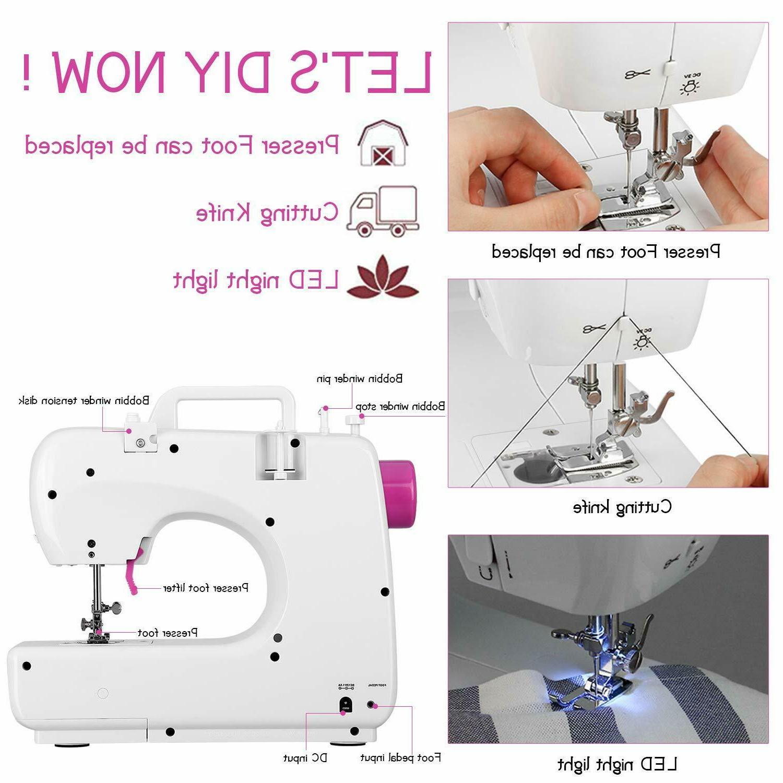 Sewing Machine 16 Stitches 2 Speed Heavy Sew Machine