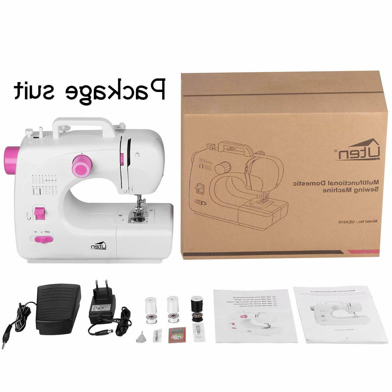 Sewing Machine with 16 Speed Heavy Machine