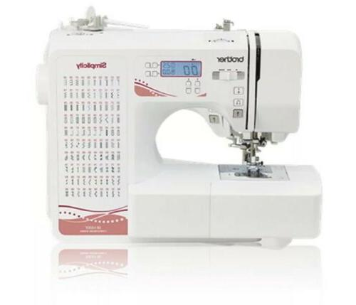 BROTHER Sewing Machine Computerized 100 Stitches Electric Foot +