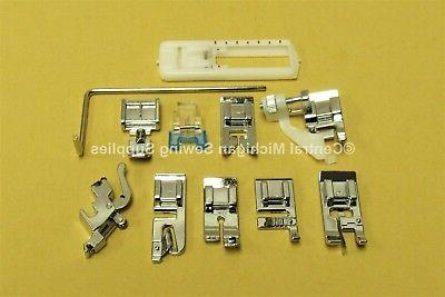 sewing machine snap on attachments fits many