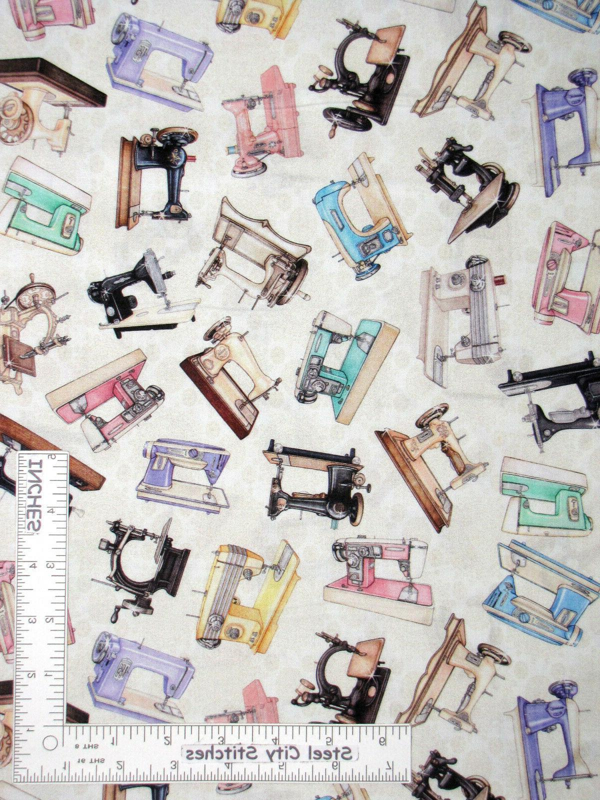 sewing machines vintage retro sew toss cream