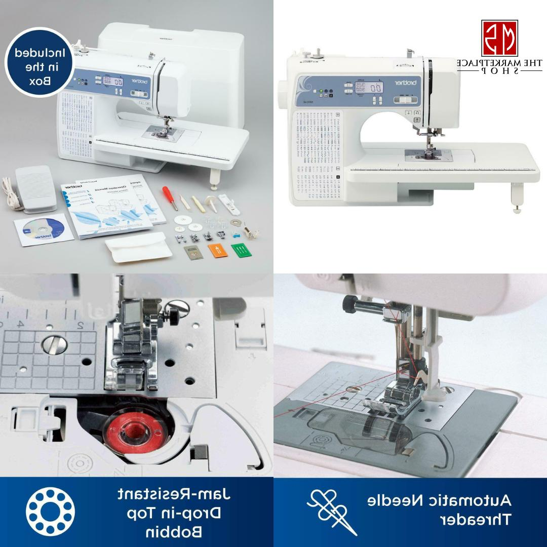 Sewing Quilting Embroidery Machine Computerized Screen Autom