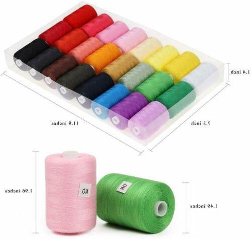 HAITRAL Sewing Thread 24 Cotton Thread