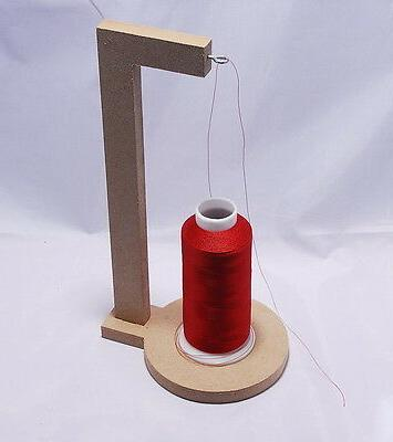 thread cone spool holder for embroidery or