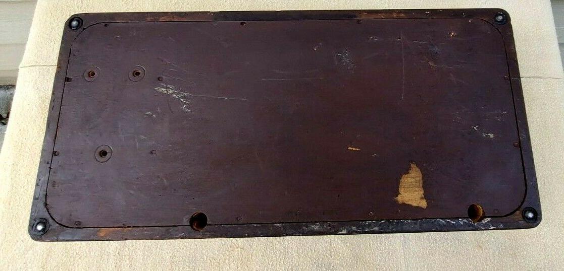 Vintage Sewing Bentwood Case 3/4 99,185,192 spartan Key