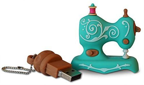 Sew Pro Sewing Machine USB Flash Drive for Mac, Embroidery and Sewing Machines