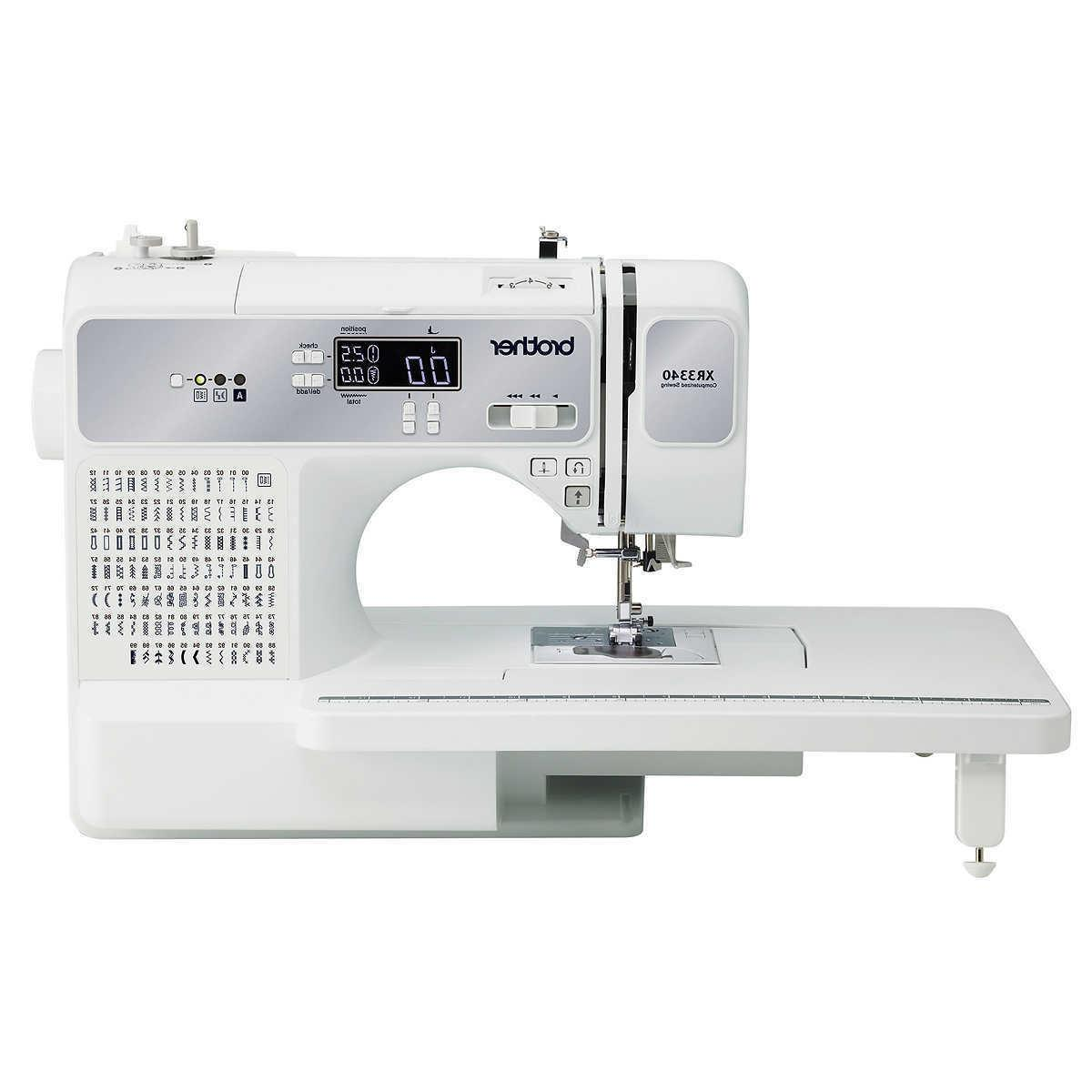 xr3340 computerized sewing and quilting machine new