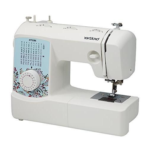 Brother Machine 8 Sewing Wide Table, and Instructional Red