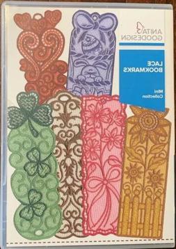 Anita Goodesign Lace Bookmarks Embroidery Machine Design CD