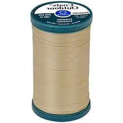 Coats Outdoor Living Thread, 200-Yard, Buff
