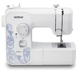 Brother LX3817 17-Stitch Full-size Sewing Machine White New
