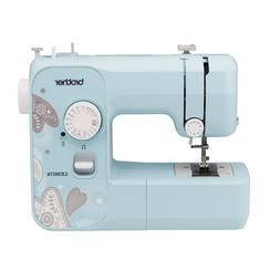 Brother LX3817A Sewing Machine - Aqua- 17-Stitch Full-size *