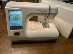 JANOME MC 10000 Embroidery & Sewing Machine, GREAT CONDITION