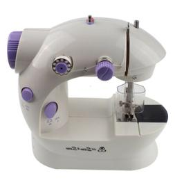 Mini Portable Beginner Sewing Machine 2-Speed Double Thread,