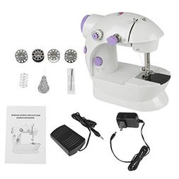 Mini Portable Electric Sewing Machine Double Speed Control D