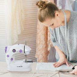 Mini Portable Hand-held Clothes Sewing Machine Home Travel L